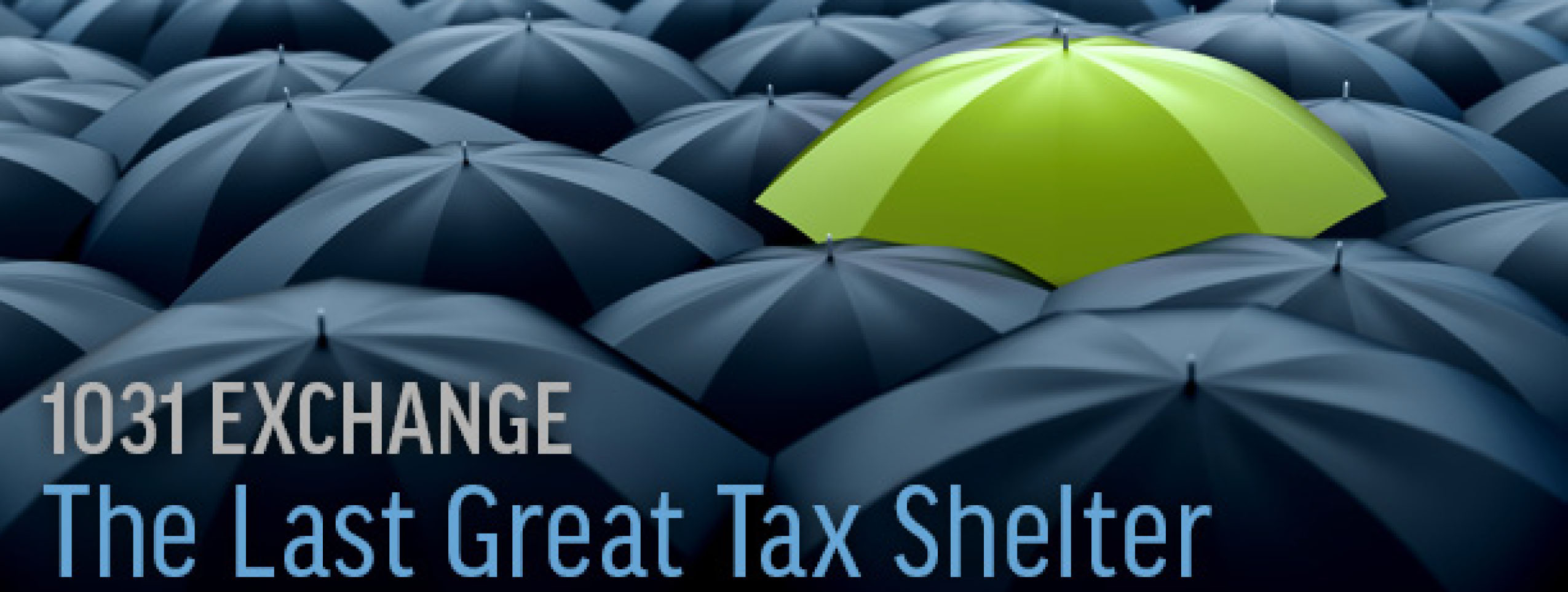 1031 Exchange: The Last Great Tax Shelter